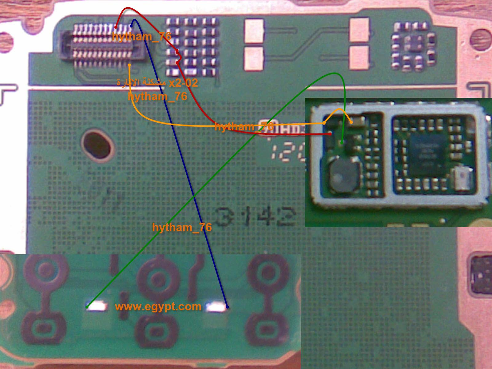 جهاز x2-02 فاصل اضاءة شاشة