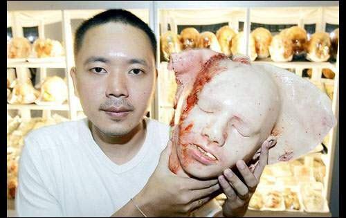 خبز على شكل اعضاء الانسان  92509171487828653319